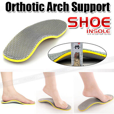 Brand New 1 Pair of Orthotic Arch Support Shoe Insoles Pads Pain Relief All Size