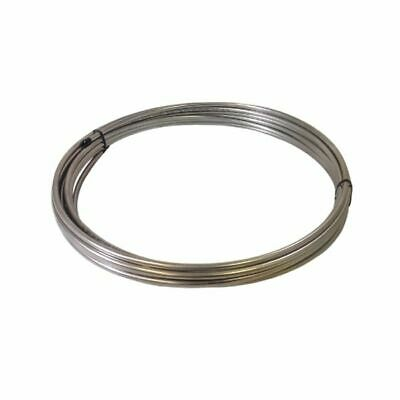 """3/8"""" OD x 50' Length x .028"""" Wall Type 316/316L Stainless Steel Tubing Coil"""