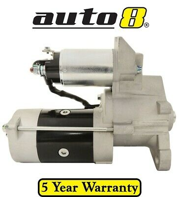 Brand New Starter Motor to fit Mitsubishi Canter 3.3L Diesel 4D30 1978 to 1994