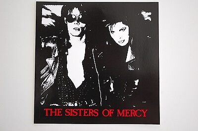 Sisters Of Mercy Sticker Decal (127) Gothic Rock Bauhaus Joy Division Siouxsie