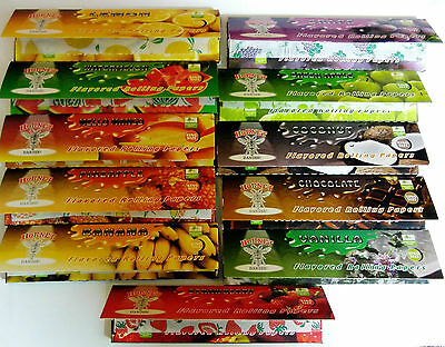 One Hornet King Size 110mm Flavour Fruity Rolling Papers Rizla Buy 4 Get 2 Free