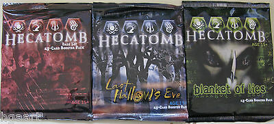 Hecatomb TCG Sealed Booster Pack Selection