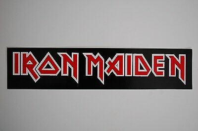 Iron Maiden Sticker Decal (304) Rock Metal Music Metallica Slayer Car Window