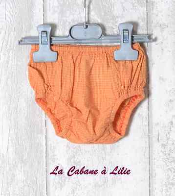 ♥ Culotte Jaune Orange CATIMINI 6 Mois ♥ E968