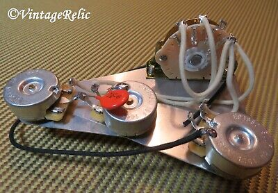WIRING HARNESS FITS Fender USA Eric Johnson Stratocaster 300k CTS vol .1uF  cap - $56.99   PicClick