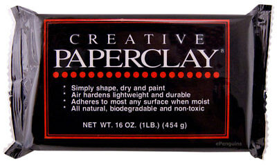 Creative Paperclay Modeling Material 16 oz 454 g Air Dry Paper Clay