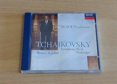 Tchaikovsky: Symphony No.6 Etc - Chicago Symphony Orchestra / Solti - Cd Mint
