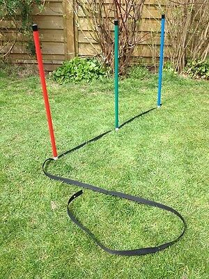 Dog Agility Jessejump Spacing Webbing for Basic Weave Poles