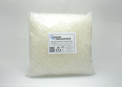 Sodium Thiosulphate 1kg - 99% Pure Crystals Aquarium Dechlorinator High Grade