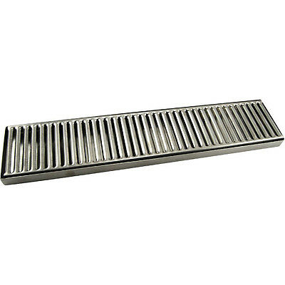 "Countertop Drip Tray - 19"" - Stainless Steel - No Drain - Bar Draft Beer Spill"