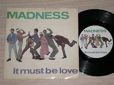 "Madness - It Must Be Love / Shadow On The House - 45 Giri 7"" England"