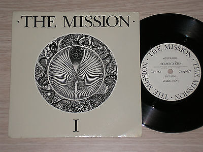 The Mission - Serpents Kiss / Wake(Rsv) - 45 Giri 7""
