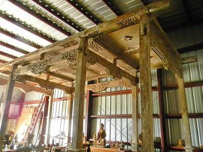 Teak House Madura Teak Post-Beam- 100 Plus Old Historical Architectural