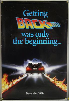Back To The Future Part Ii Ds Rolled Adv Orig 1Sh Movie Poster (1989)