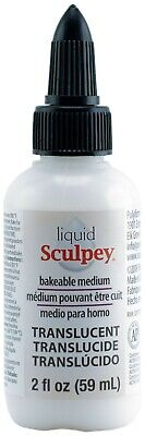 Liquid Sculpey Translucent Bakable Transfer & Color Medium