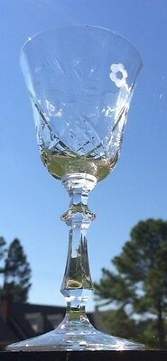 LIBBEY Rock Sharpe Crystal 2014-2 Wine Goblet (s) EXCELLENT CONDITION