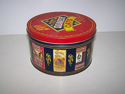 VINTAGE 1983 THE QUAKER OATS COMPANY PURE QUAKER OATS CANISTER, LIMITED EDITION
