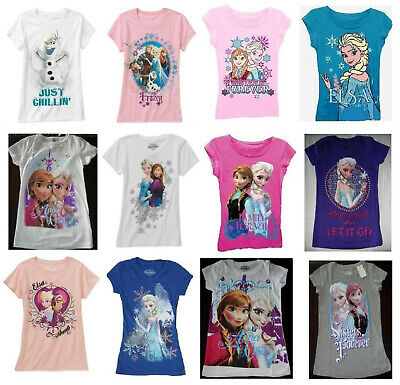Disney Frozen shirt NWT 4 5 6 7 8 10 12 UPICK sold out in store Anna Elsa Olaf