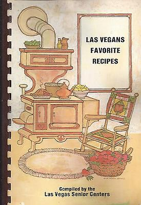 Las Vegas Nv 1983 Vintage Senior Centers Cook Book * Las Vegans Favorite Recipes