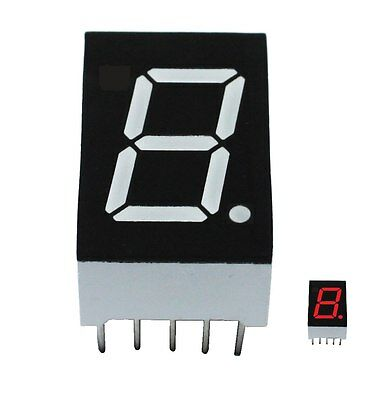 7 Segment Anzeige LDS 5101AS rot gem. cathode common 19 x 12.70 x 8 mm Display