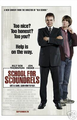 School for Scoundrels  - Original DS Movie Poster 2006