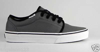 17e1a28130 VANS Women s Shoes 106 Vulcanized Gray Pewter Canvas Fashion Skate Sneakers