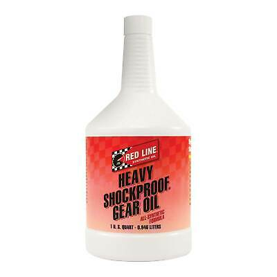 Red Line Heavy Shockproof Race/Rally Gear Oil US Quart