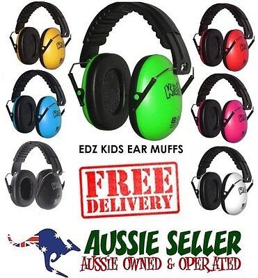 EDZ KIDZ earmuffs for baby's and kids 6 months-16 yrs -  FREE SHIPPING & FAST!
