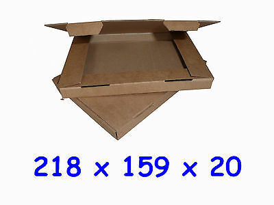 Royal Mail C5 Large Letter ~ 218 x 159 x 19mm Cardboard Postal Mailing PiP Boxes