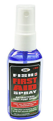 NEW FISH AID SPRAY Fishing Carp Pike Care Antiseptic Unhooking Scales Treatment