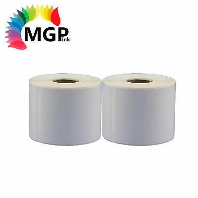 2 ROLL DYMO / SEIKO COMPATIBLE LABELS 11354 57mm x 32mm for labelwriter printer