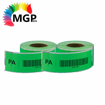 2 Compatible for Dymo/Seiko 99010 Green Label 28mm x 89mm Labelwriter450 Turbo