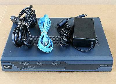 CISCO887VA-W Wireless Router VDSL2/ADSL2+ over POTS 6MthWty TaxInv 887VAW