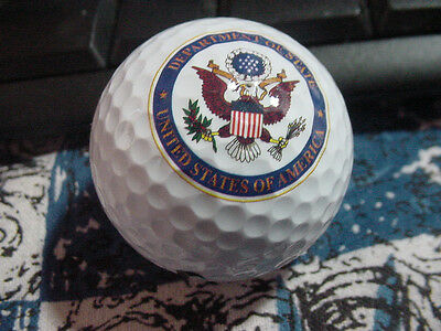 US Department of state  golf balls
