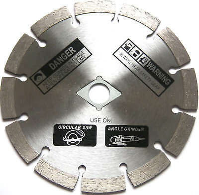 "8"" Segmented Diamond Blade For Angle Grinder Circular Saw  (10) Pack"