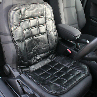 Leather Car Front Seat Cushion/protector Orthopaedic Back Support/massage Cover