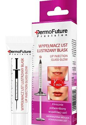 Dermofuture Precision Lip Plumper Glass Glow Firming Anti Wrinkle Serum