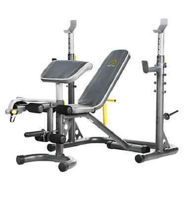 Gold 39 S Gym Xr30 Olympic Bench W Safety Spot Olympic