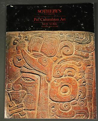 Sothebys Pre-Columbian Art NY May 1986 with prices