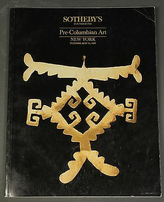 Sothebys Pre-Columbian Art NY May 1989 with prices