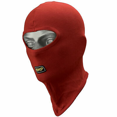 OMP Open Face Kart Racing/Go Karting Balaclava - One Size - In Red