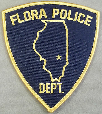 Law Enforcement Patch / Flora Police Department / Illinois