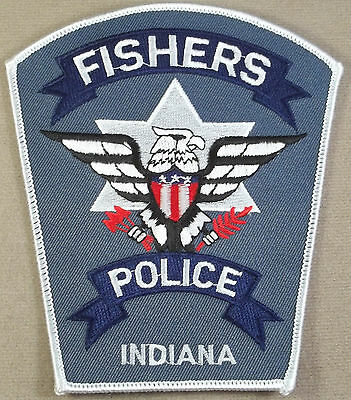 Law Enforcement Patch / Fishers Police Department / Indiana