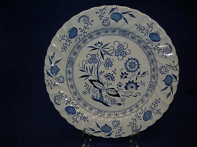 Johnson Brothers Blue Nordic Dinner Plate  Free Shipping