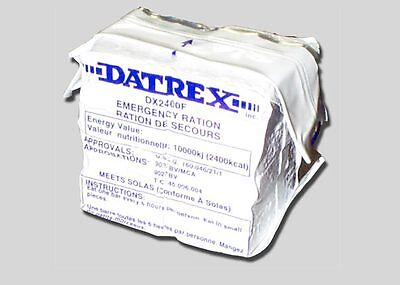 50 PK Datrex 2400 Calorie Bars Earthquake Emergency Survival Food Ration MRE