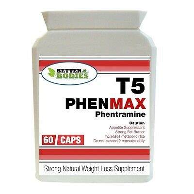 60 T5 Phentramine Strong Diet Weight Loss Slimming Pills Appetite Suppressant