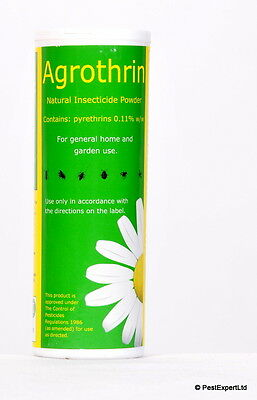 Agrothrin Natural Insecticide Dust for Clothes Moths