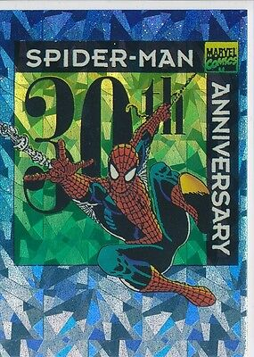 P9 PROMOTED 1992 Comic Images 30th Anniversary Spider-Man PRISM Insert