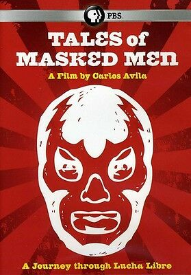 Tales Of Masked Men-Journey Through Lucha Libre (2012, DVD New)