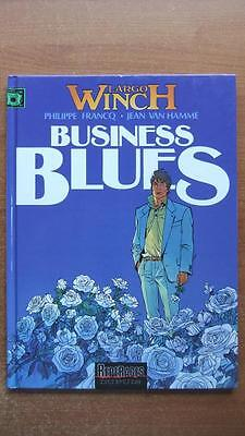 Largo Winch T. 4 : Business Blues - E.o. -1993- Francq - Van Hamme - Dupuis